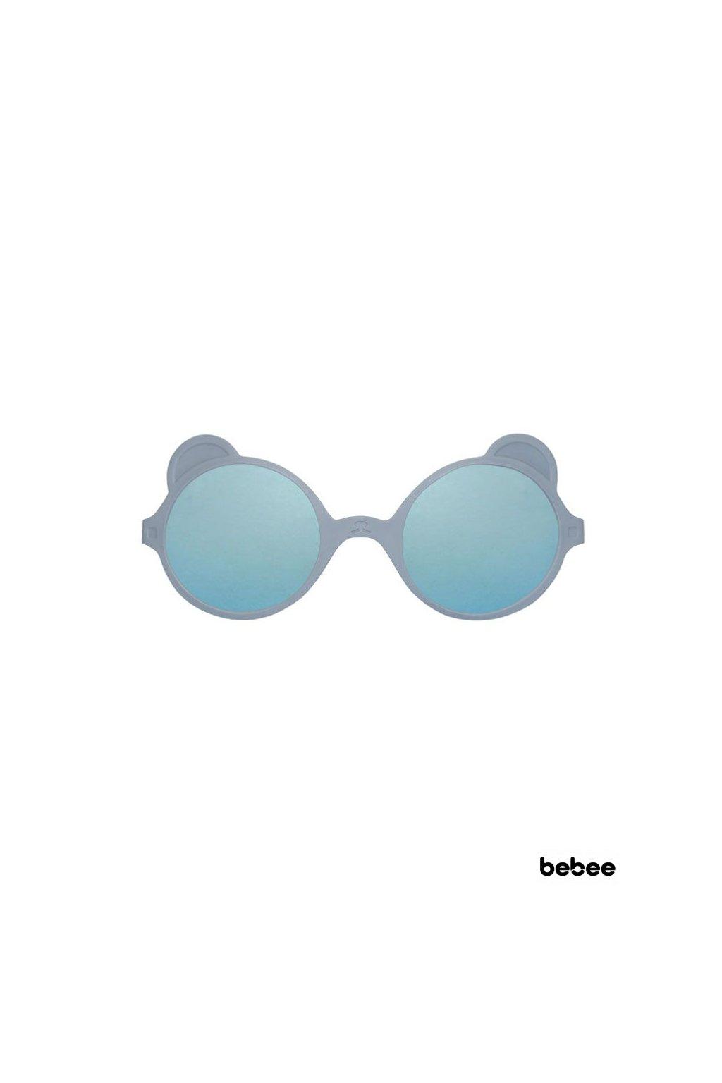 Slnečné okuliare OURS´ON 1-2 roky - silver-blue   KiETLA