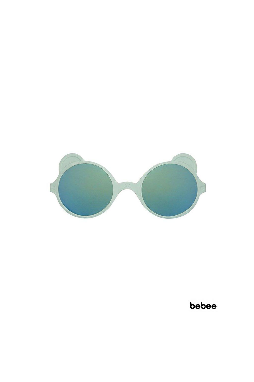 Slnečné okuliare OURS´ON 2-4 roky - almond-green | KiETLA