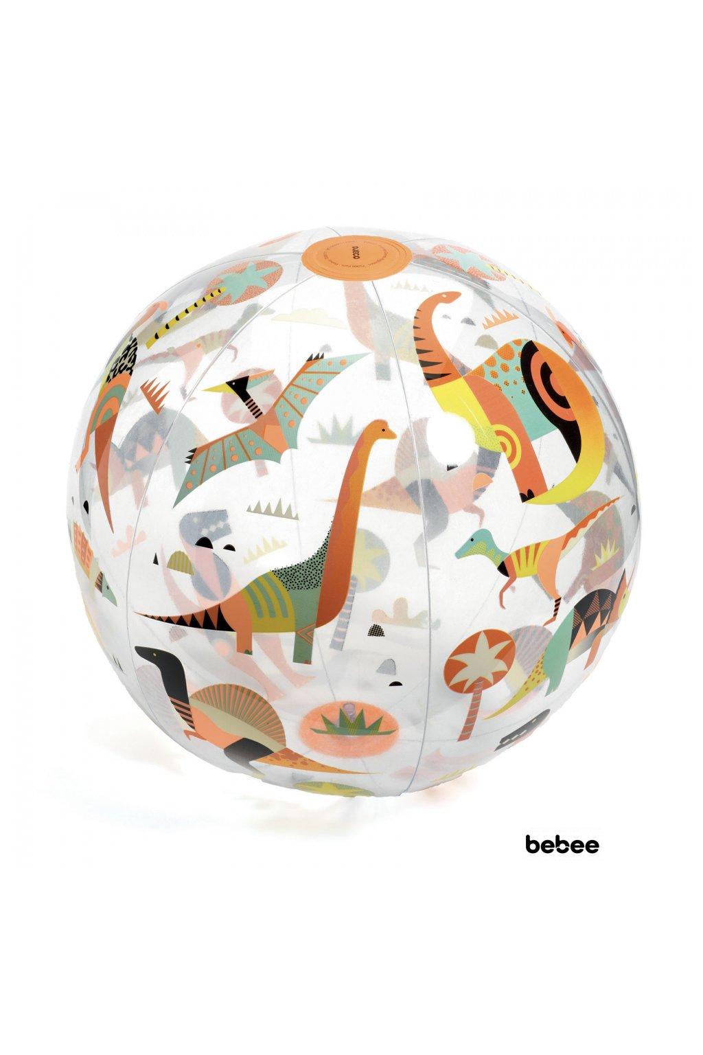 Nafukovacia lopta: Dinosaury | DJECO
