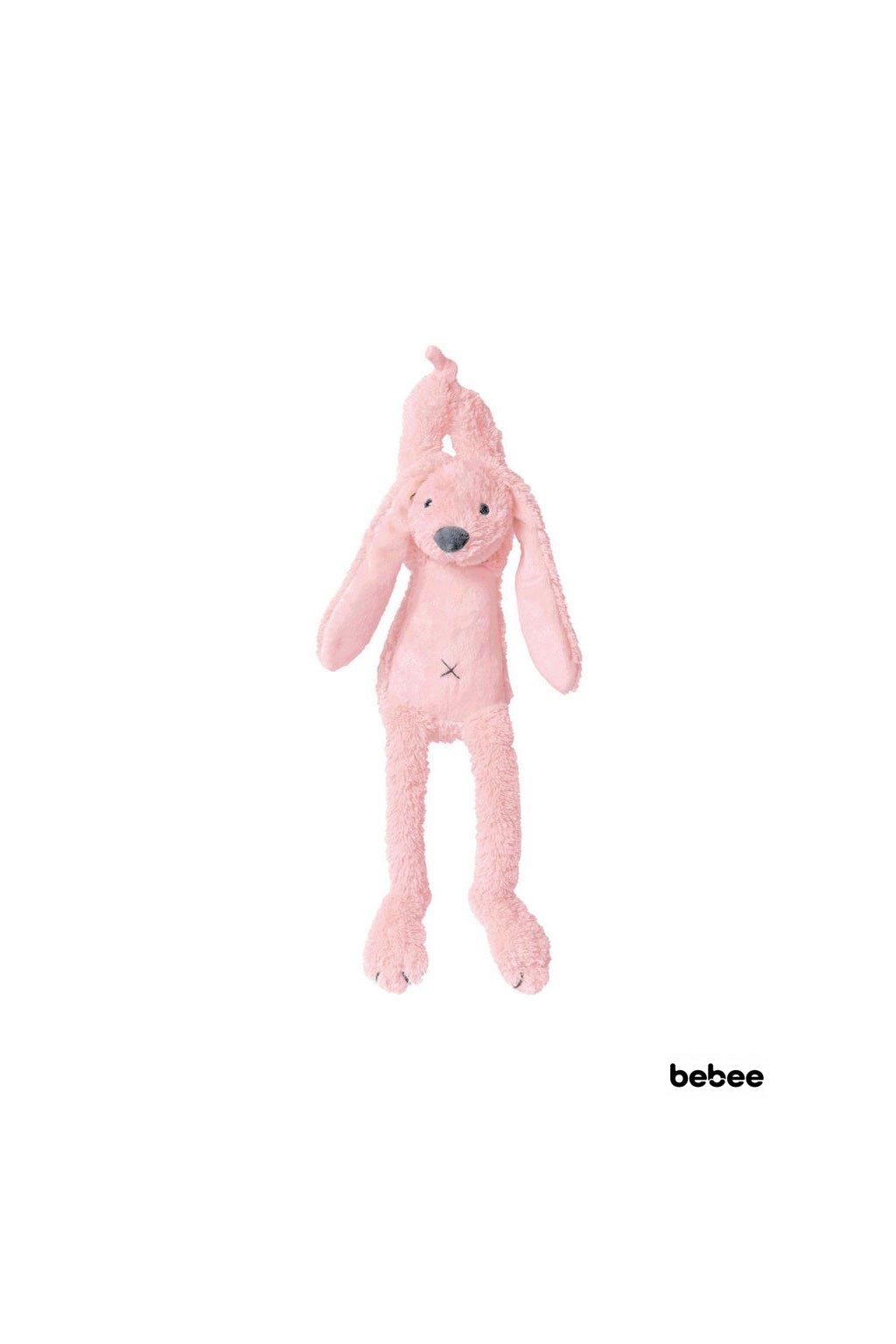 zajacik richie hudobny ruzovy 34 cm happy horse