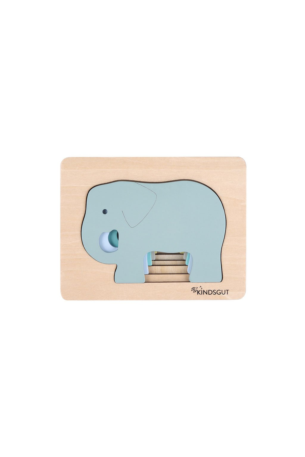 drevene puzzle slon Kindsgut