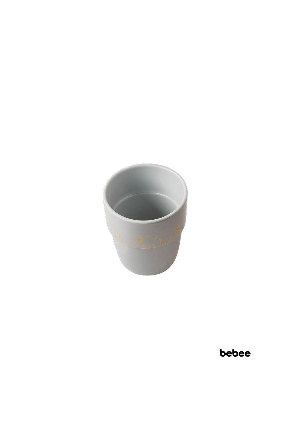 Hrncek Contour Yummy mug seda zlata Done by Deer