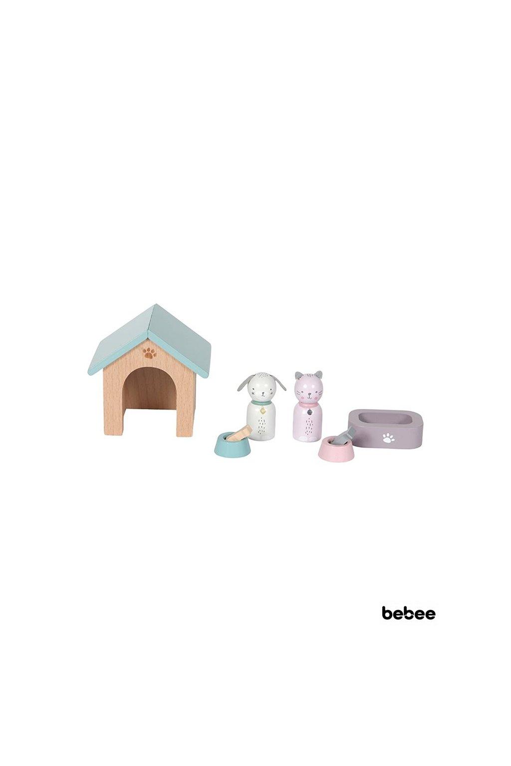 Set do domčeka zvieratká | Little Dutch