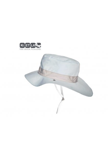 Obojstranný klobúčik s UV ochranou 45-47cm - panama sky | KiETLA