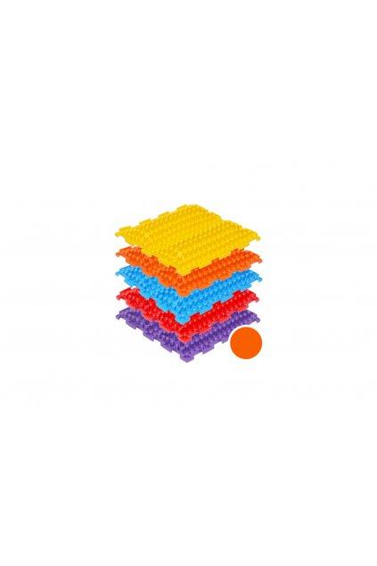 masazne koberceky novavlna tvrde oranzova