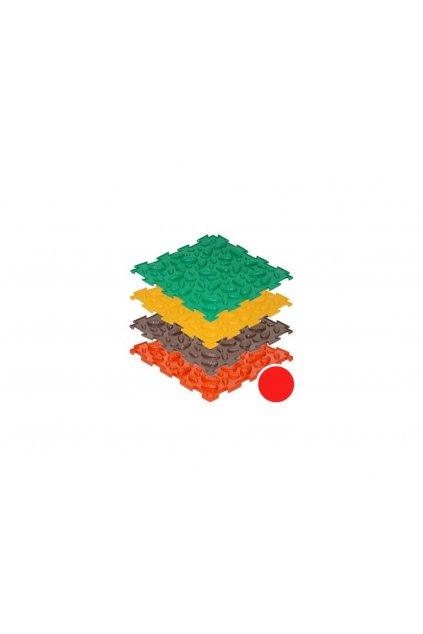 masazne koberceky sisky makke cervene