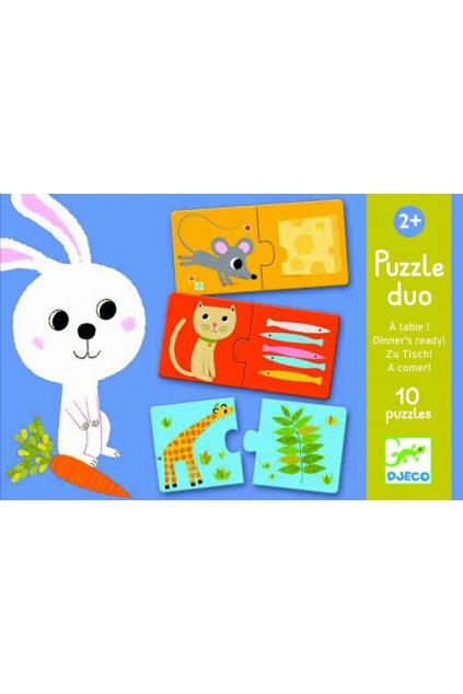 djeco puzzle jedlo je hotove