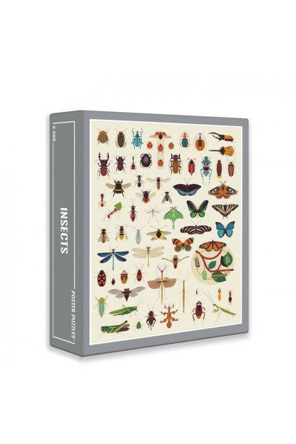 puzzle 500 pieces insectes poppik