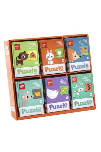 puzzle duo pre najmensich
