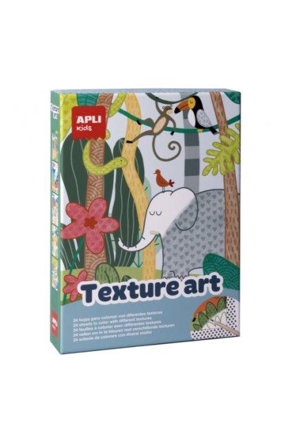 kreativna sada kreslenie textury apli textury