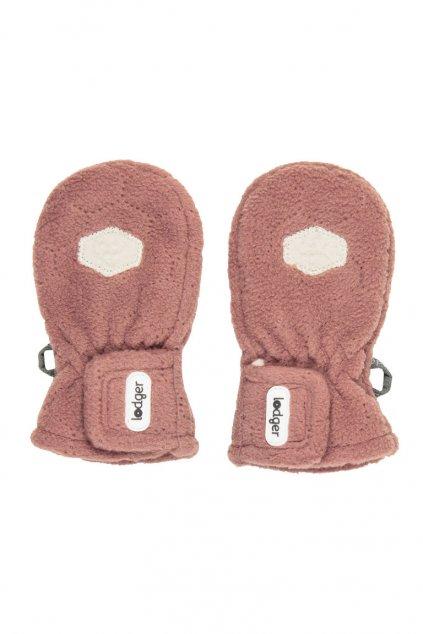 zimne rukavice mittens botanimal plush lodger