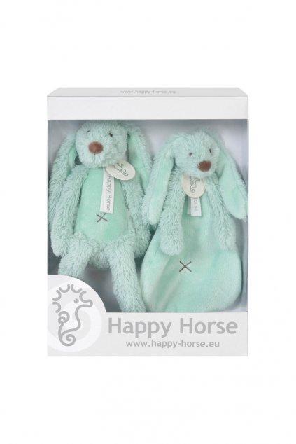zajacik richie set tyrkysovy happy horse