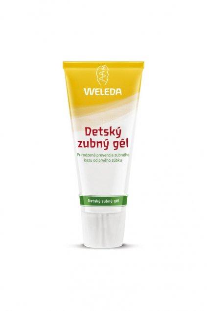 Detsky zubny gel 50ml Weleda