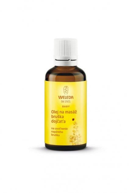 Olej na masaz bruska dojcata 50ml Weleda