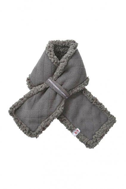 zimny sal muffler fleece scandinavian coal lodger