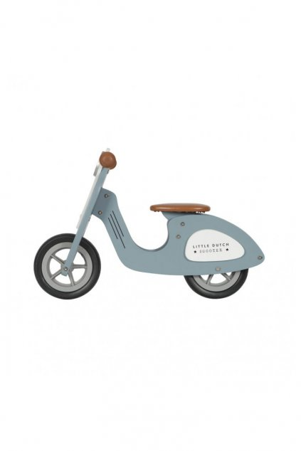 Odrazadlo scooter modre Little Dutch