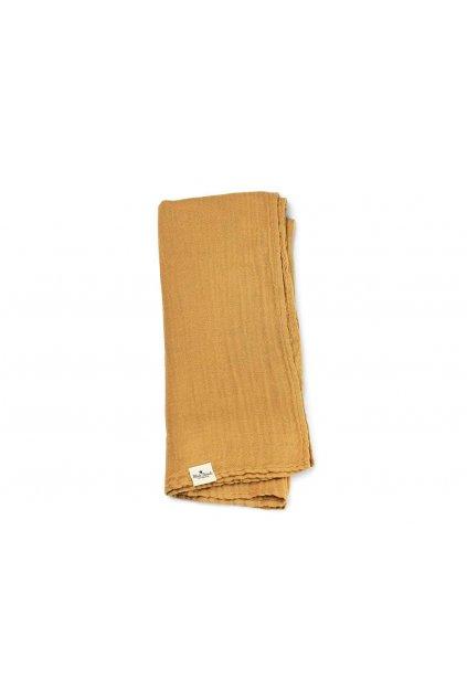Deka z bambusového mušelínu Gold | Elodie Details