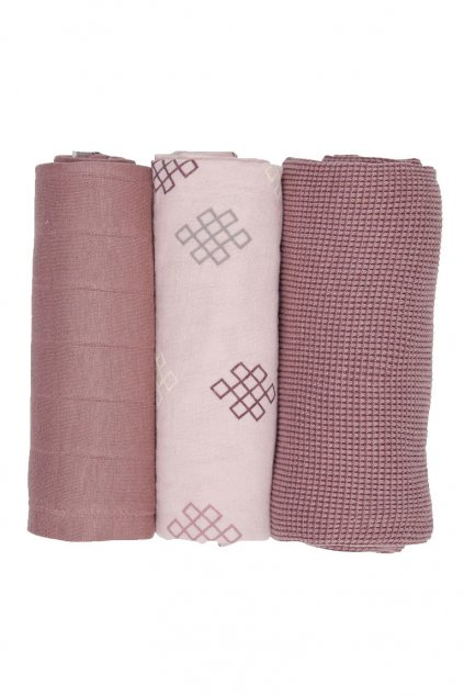 multifunkcna osuska swaddler empire knot 3 ks 70 x 70 cm plush lodger