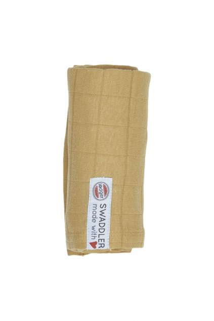 multifunkcna osuska swaddler solid 70 x 70 cm honey lodger