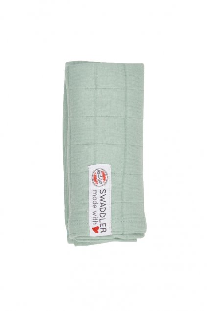 multifunkcna osuska swaddler solid 70 x 70 cm silt green lodger