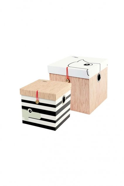 cb4baa8e0 Úložný box 2ks - malý | Done by Deer | bebee.sk