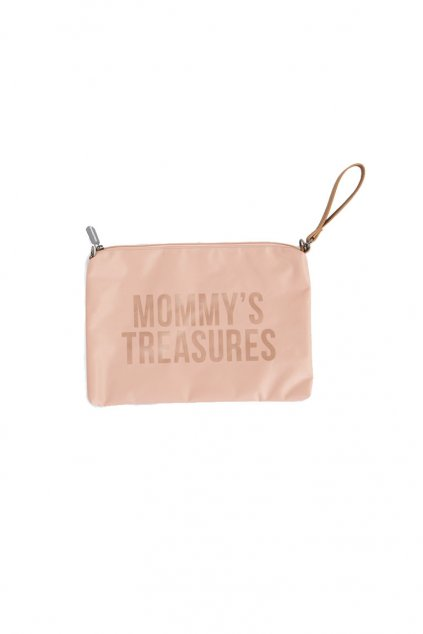 puzdro na zips s putkom pink copper childhome