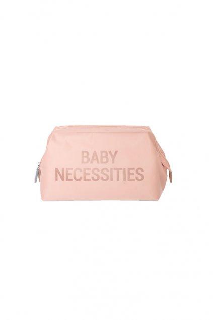 toaletna taska pink copper childhome