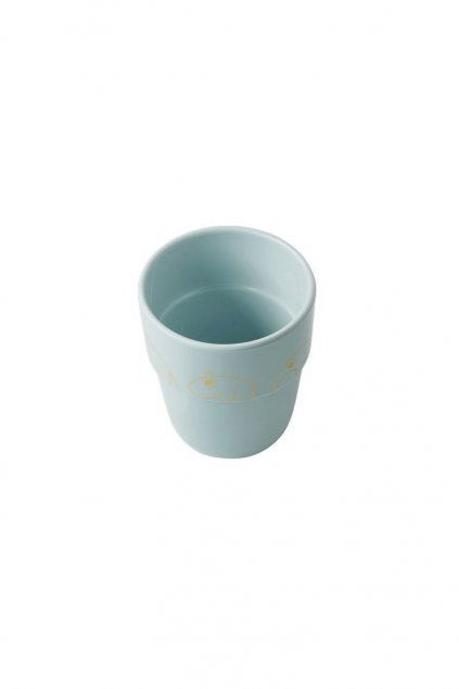 Hrncek Contour Yummy mug modra zlata Done by Deer