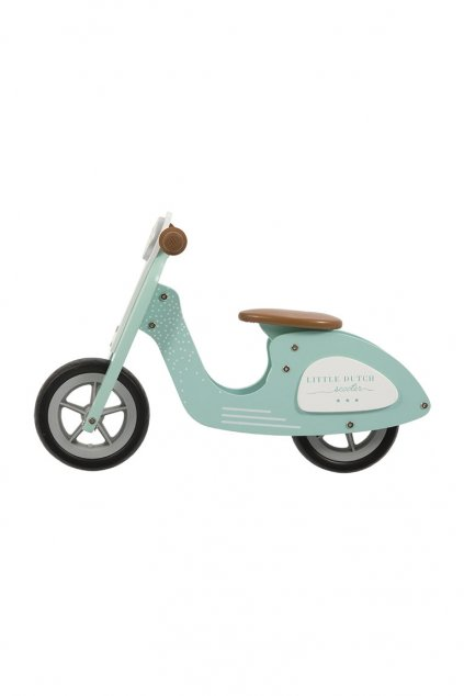 Odrazadlo scooter mint Little Dutch