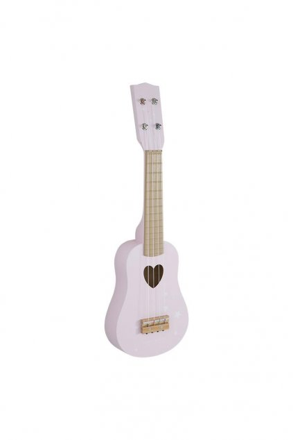 Gitara ruzova Little Dutch