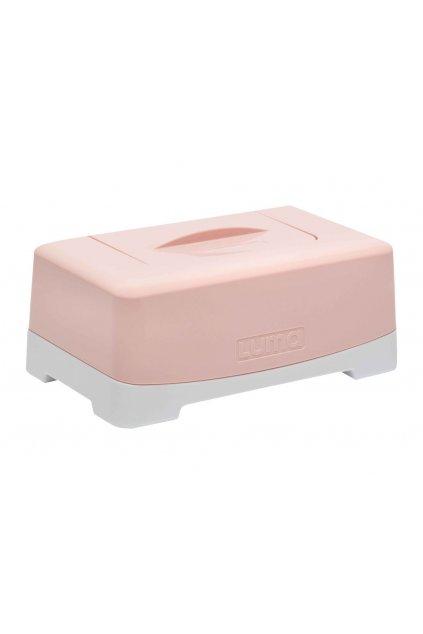 Box na vlhčené ubrousky LUMA Cloud Pink