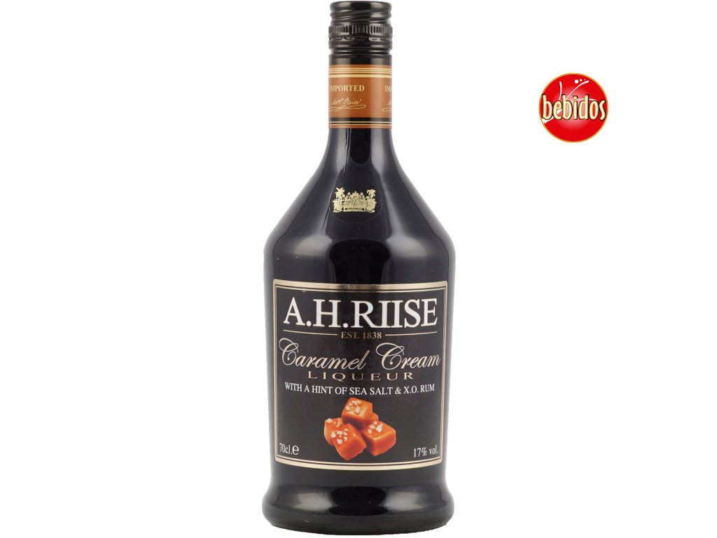 A.H.Riise Sea Salt-Caramel 17% 0,7l