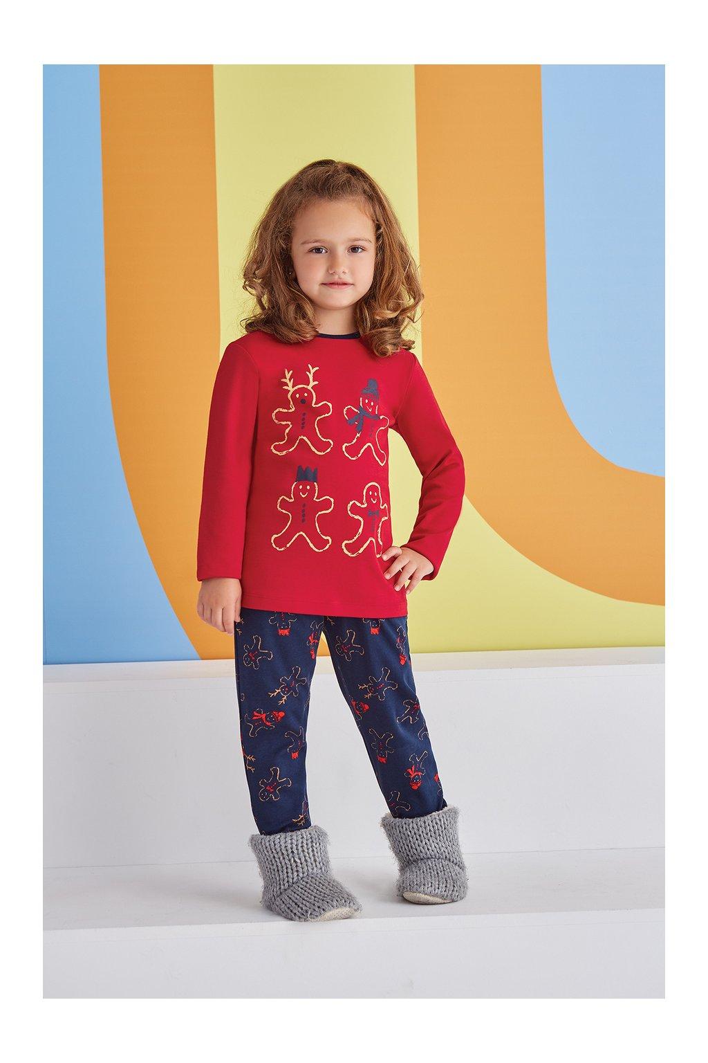 Dívčí pyžamo s perníčky holčička