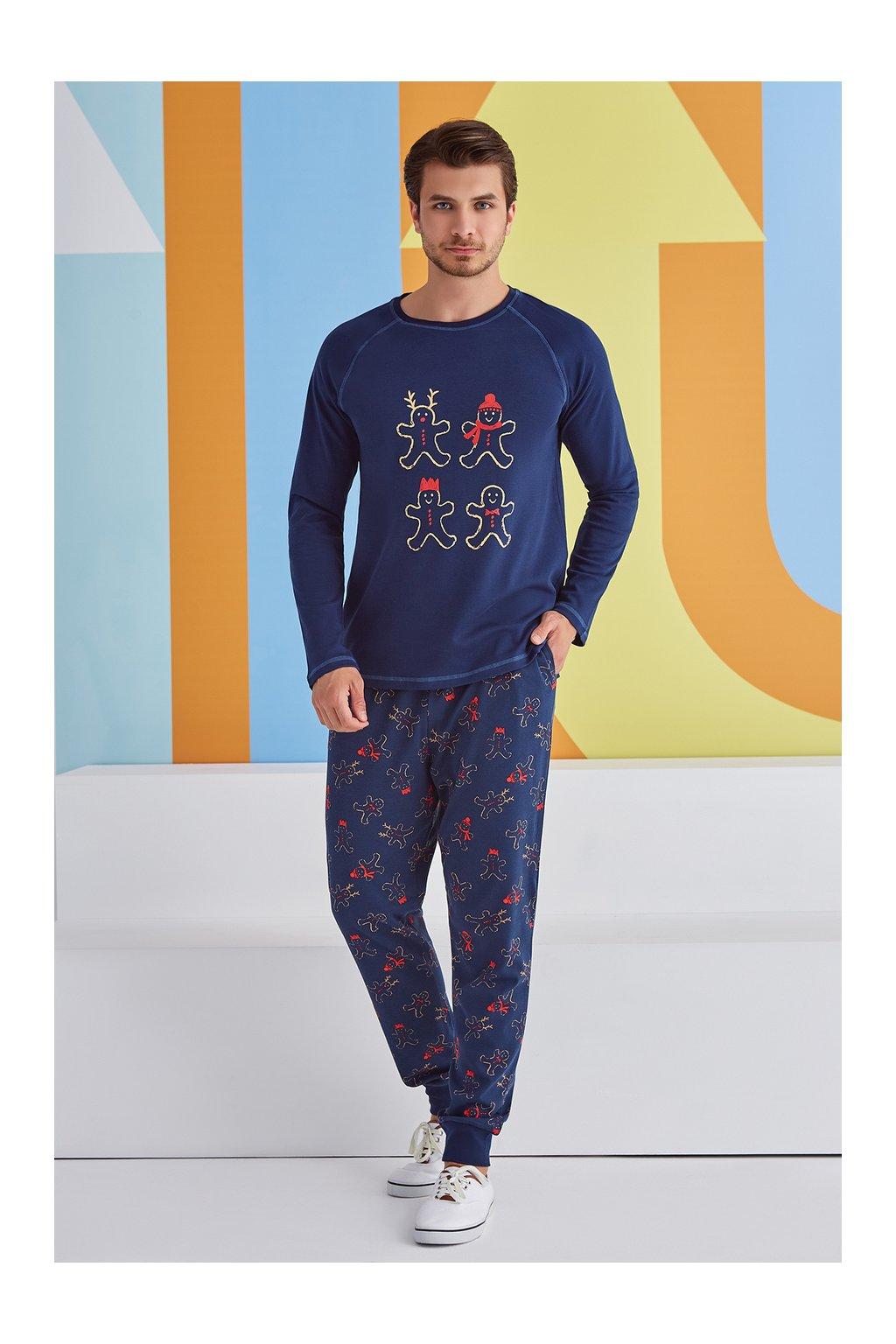 Pánské pyžamo s perníčky