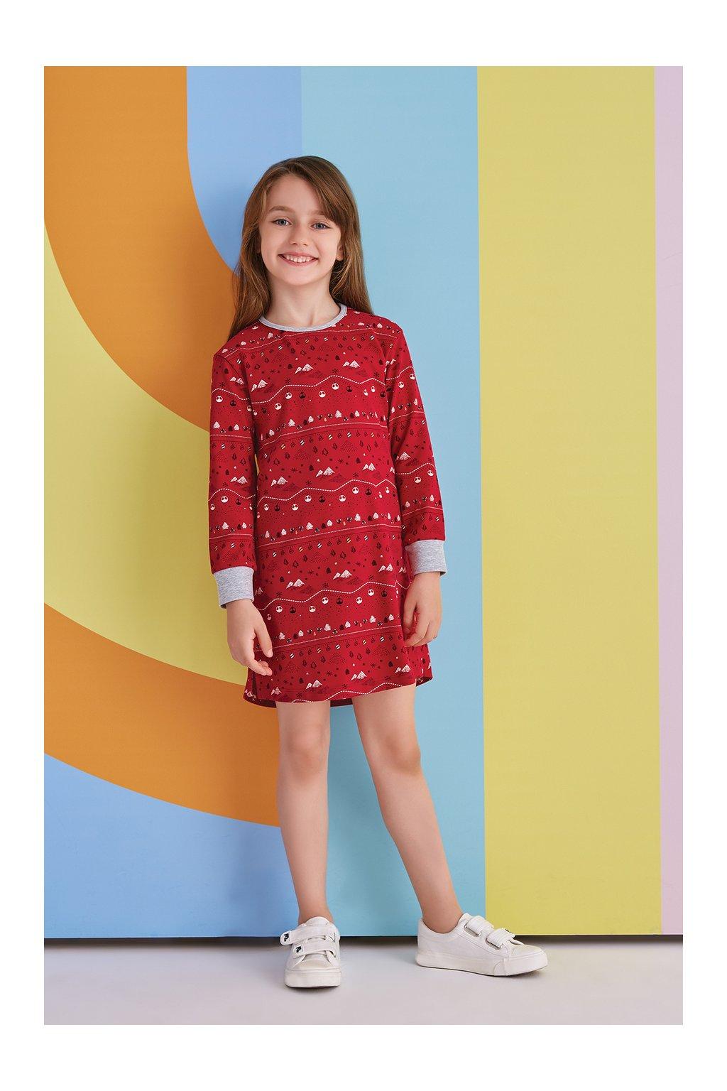 Dívčí vánoční košilka