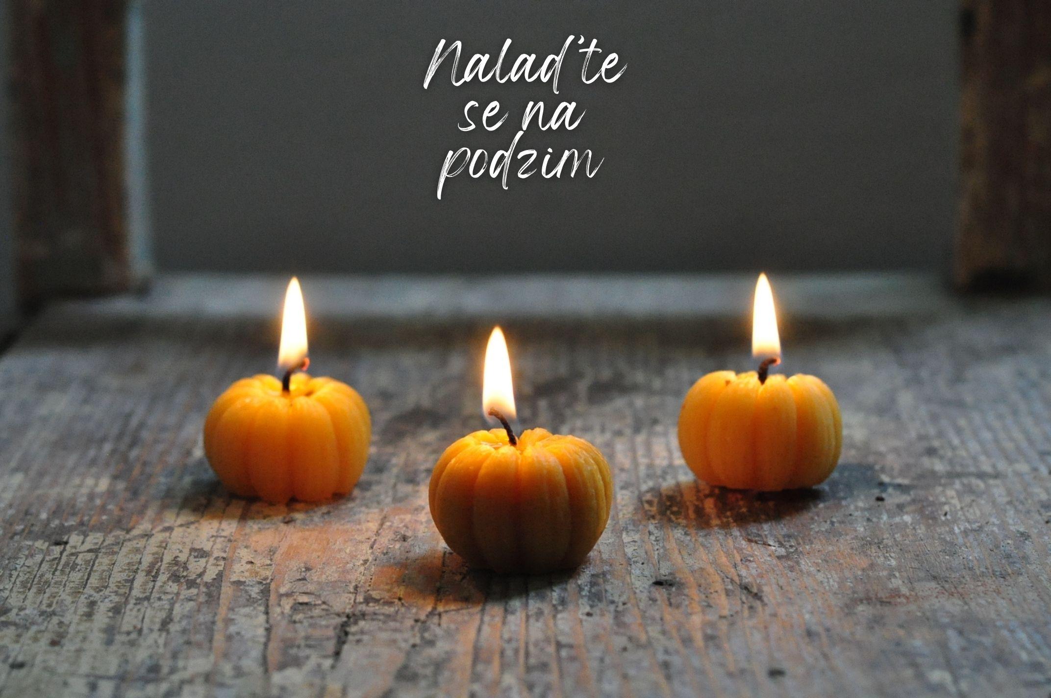 Podzim na Bee Happy candles
