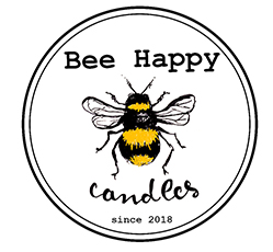 Bee Happy candles