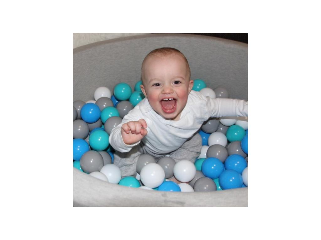 Suchý bazének pro děti GREY bez míčků