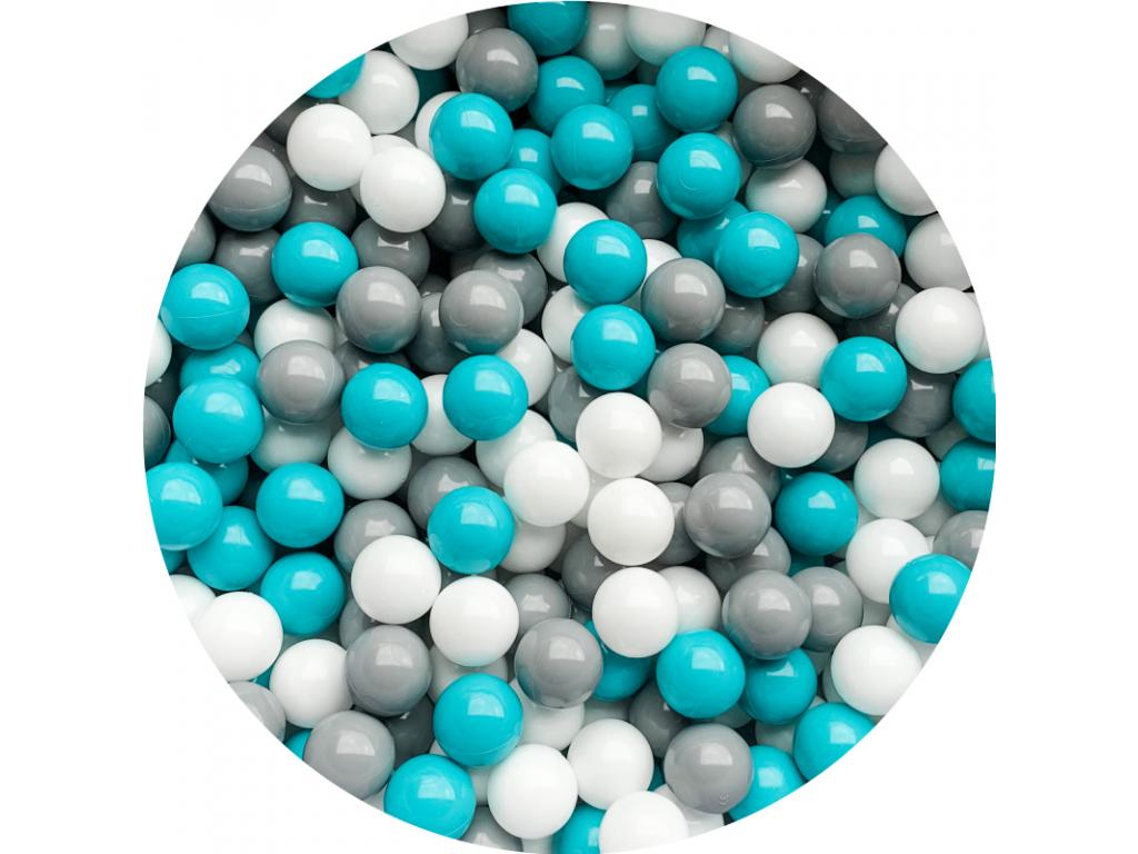 Plastové míčky pro děti SPEARMINT / GREY