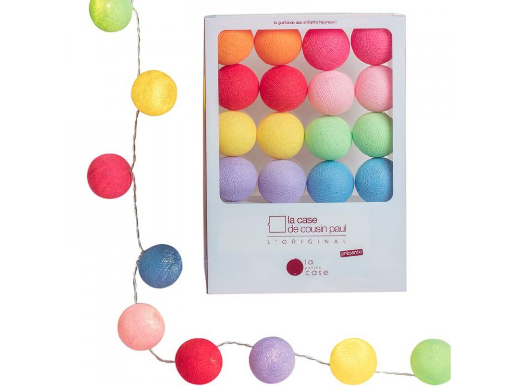 """Světelné kuličky / řetěz / noční osvětlení """"Baby Collection"""" OSCAR ROSE"""