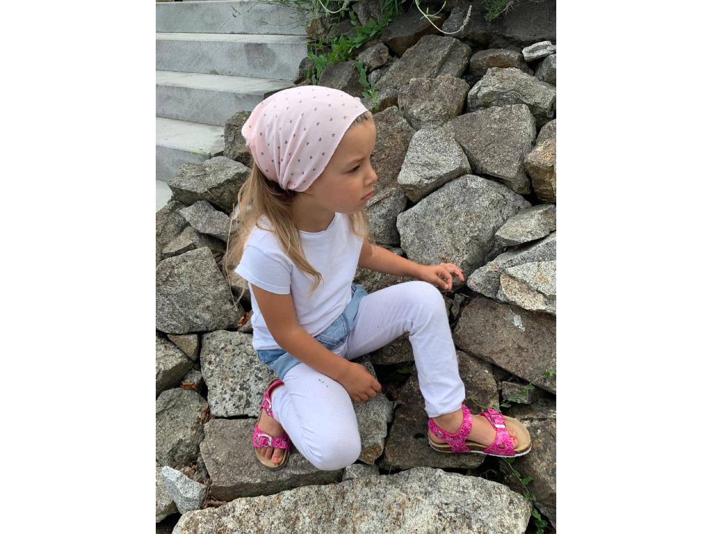 Šátek na hlavu / čelenka SWEET HEARTS
