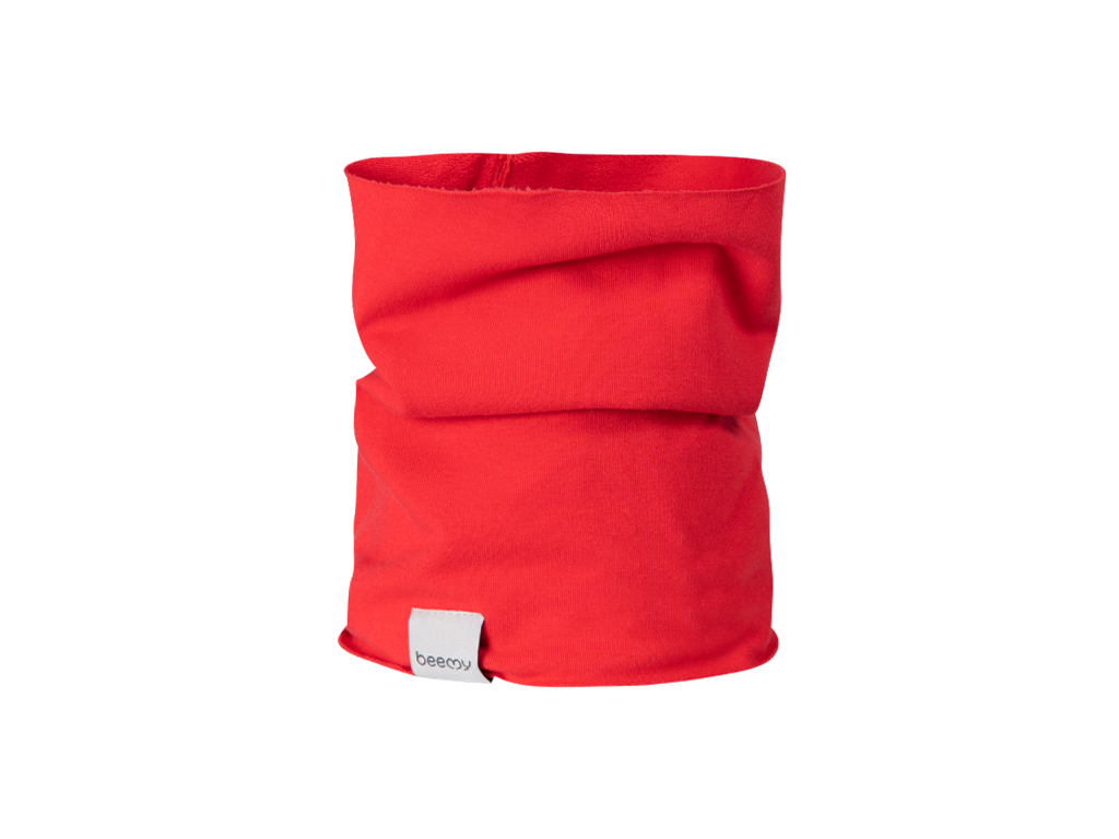 Nákrčník SIMPLE RED - TEPLÁKOVINA