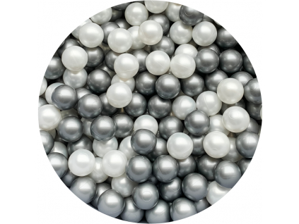 Micky silver pearl
