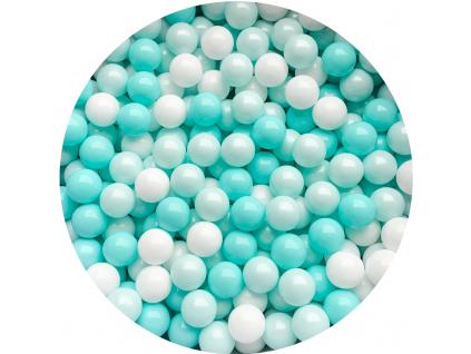 Plastové míčky pro děti MINT / BLACK