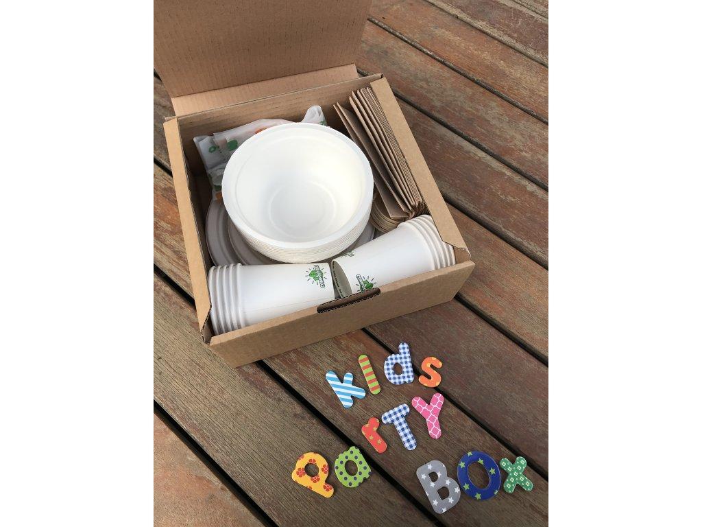 Detský kompostovateľný party box
