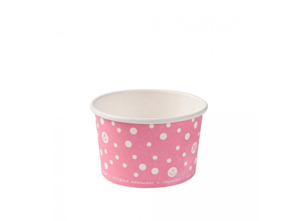 Eko misky na zmrzlinu