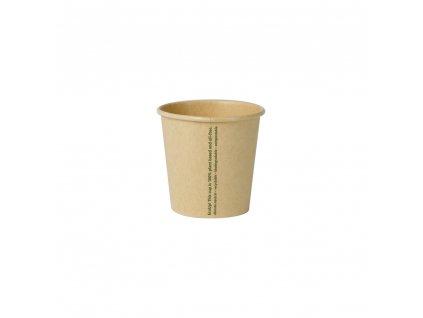papierove pohare na kavu-nebielené, 100 ml