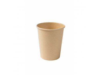 papierove pohare na kavu-nebielené, 200 ml