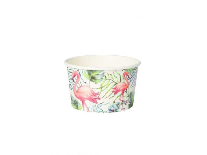 Kompostovateľné misky na zmrzlinu