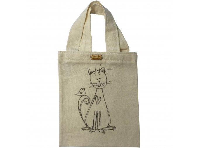 Detská taška mačka